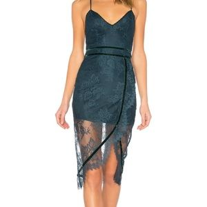 Lovers + friends skylight dress. Topaz. XS.
